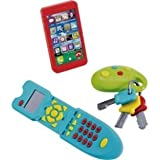 Chad Valley Gadget Set -Keychain, Remote Control and Mobile