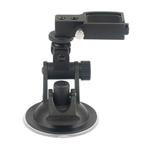 Orcbee  _Vehicle Windshield Suction Cup Car Mount 1/4 Bracket Holder for DJI Osmo Pocket ()
