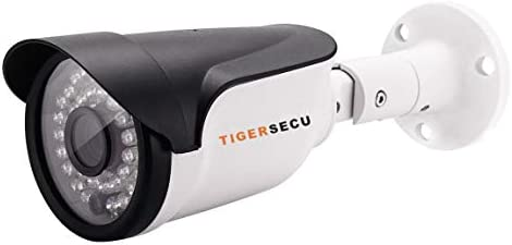 TIGERSECU Super HD 1080P TVI Security Camera for TVI 1080P DVR, Weatherproof for Indoor Outdoor Use Power Supply and Coaxial Cable Sold Separately