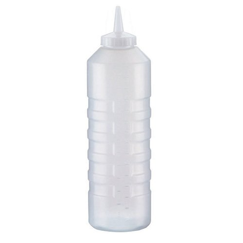 Traex 4932-13 32 Ounce Single Tip Clear Squeeze Dispenser