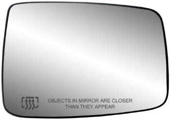 Fit System 30244 Dodge Ram Right Side Heated Power Replacement Mirror Glass With Backing Plate