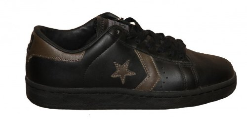Converse Skateboard Pro Leather Ox Black Gunmetal Sneakers Shoes ... 5cd24ee0a