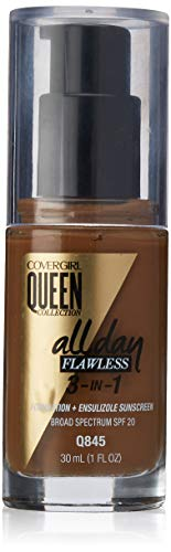 COVERGIRL Queen Collection All Day Flawless Foundation, Warm