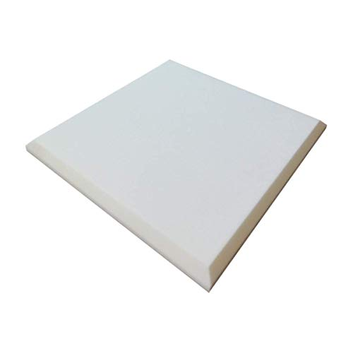 Foam Mart, Acoustic Melamine Foam, Sound absorbing Beveled Panels - 1.5