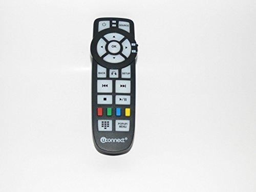 2013 2014 Chrysler Dodge Jeep Uconnect DVD Entertainment Remote Control Part 05091247AA