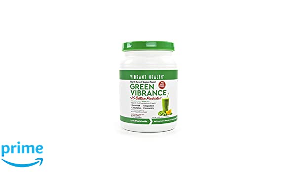 Vibrant Health Green Vibrance, 83 servings, Version 18.0 ...