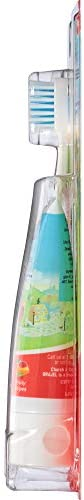 316bFIEMsEL. AC - Orajel Daniel Tiger's Neighborhood Fluoride-Free Training Toothpaste & Toothbrush Combo Pack, Fruity Stripes, 1.0oz
