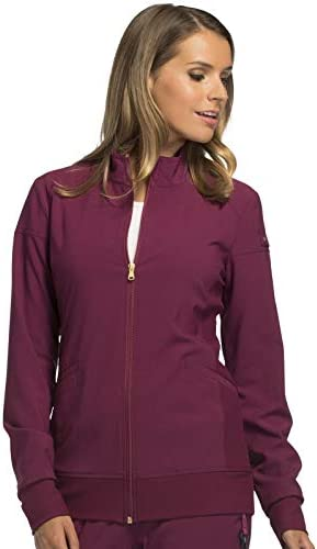 Cherokee iflex Women's Zip Front Warm-Up Scrub Jacket