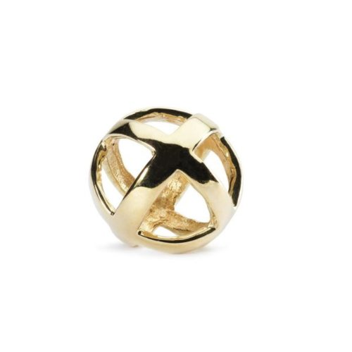Trollbeads Stay Positive, Gold- TAUBE-00055