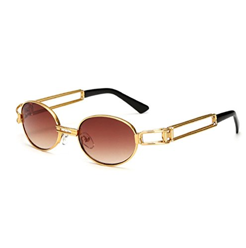 Honhui Hot Vintage Mirrored Eyewear Sports Sunglasses For Men And Women - Sunglasses Driving With