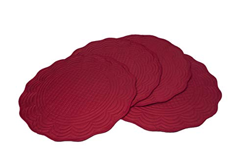 (Generic Red Cotton Quilted 15