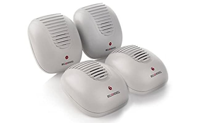 Bell + Howell Ultrasonic Pest Repeller, 4 Pack