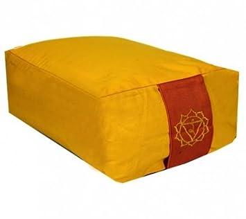 Cojín de meditación 3. solarplexuschakra Chakra Manipura ...