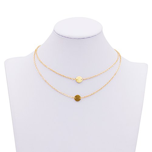 Zealmer Pendant Double Necklace Adjustable