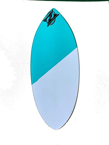Zap Skimboards Large Wedge Teal (Choose Style) (Teal 50/50) ()