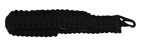 Ultimate Arms Gear Two 1.50'' QD Push Swivels + 550 lb Paracord Survial Sling, Black 56' ft Cord with Hook Ends for Beretta CX4 Rifle 12/20 Gauge by Ultimate Arms Gear (Image #3)