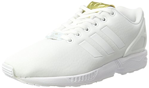 W Blanco Zapatillas Flux White Footwear Adidas Metallic para ZX Gold Mujer White Footwear Yawp11qExg