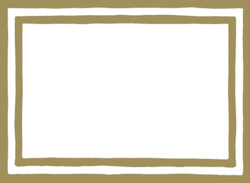 (Christmas Gift Tags Holiday Gift Tags Peel N Stick Adhesive Gift Labels Gold Border 24 Pc. 2.5