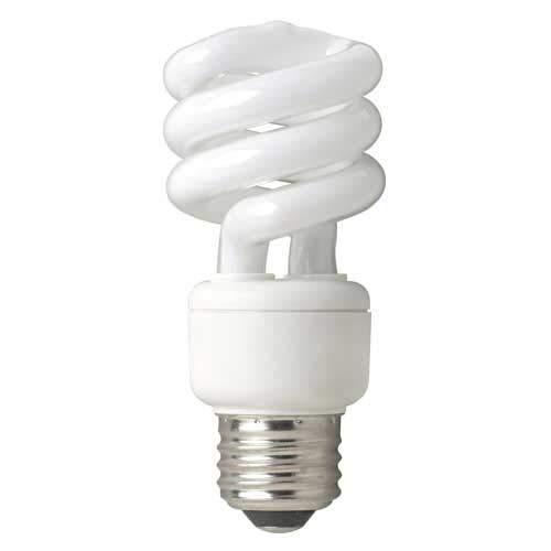 Bell Energy Saving [220v - 240v] 11w Mini Spiral Bulb (Edison Screw - ES / E27) - Extra Warm White (27000k / 827) ()