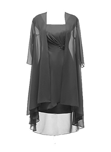 Ruiyuhong Two Piece Mother of the Bride Dresses With Jacket Half Sleeves LH468