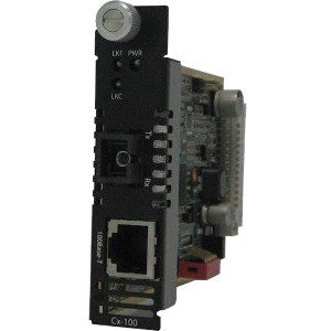 Perle 05041930 C-100-M1SC2U MEDIA CONVERTER 100BASET MM BIDI 1310/1550NM 2K by Perle