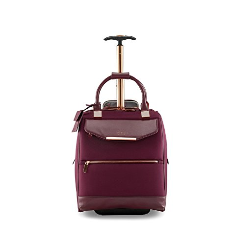 - Ted Baker Womens Albany Softside Wheeled Business Case (Burgundy)