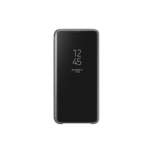 Samsung Official Genuine Clear View Cover Case Galaxy S9 - Black (EF-ZG960CBEGWW)