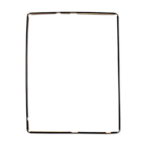 Display Bezel Compatible with iPad 3, 4 (Black) Includes Adhesive