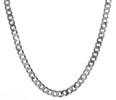 a74ff8463f2e0 925 Sterling Silver Gents/Men Curb Chain - 22