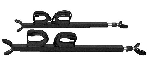 xp 900, 570 Full size, and 900 Crew Ranger- UTV Overhead Gun Rack by Great Day DAYQD8580GR by Great Day (Image #5)