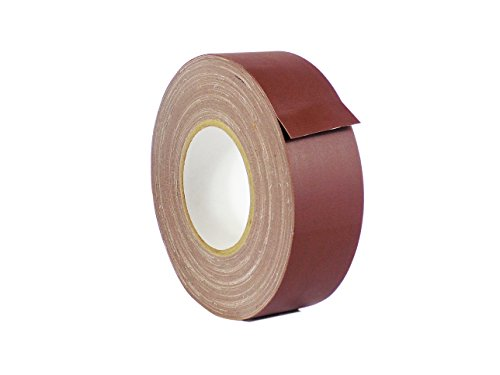 WOD CGT-80 Burgundy Gaffer Tape Low Gloss Finish Film, Residue Free, Non Reflective Gaffer, Better than Duct Tape (Available in Multiple Sizes & Colors): 2 in. X 60 Yards (Pack of 1) (Burgundy Finish)