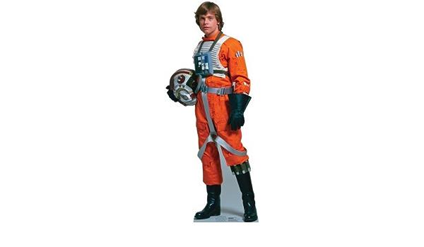 StarCutouts Luke Skywalker Pilot – Star Wars Standup Figura ...