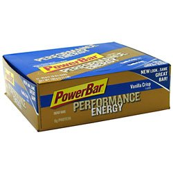 PowerBar Performance Energy Bar Vanilla Crisp - 12 Bars - 65 g (2.29 oz) each