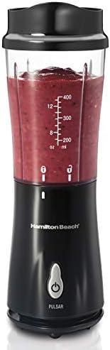 Liquidificador Individual, Preto, 110v, Hamilton Beach