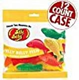 jelly belly case - Jelly Belly Fish Chewy Candy - 2.8 Ounce Bag Pack of 12 (2.1 Lb Case)