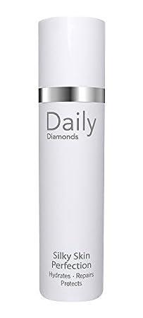 DAILY Diamonds 24h Feuchtigkeitscreme - Silky Skin Perfection - 50 ml Tagescreme auch für die Nacht Anti-Aging ohne Parabene,