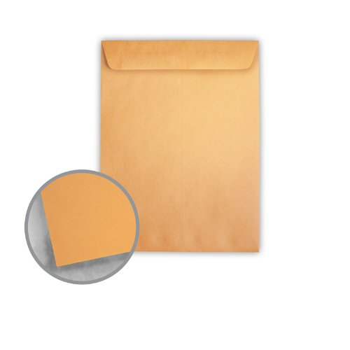 Printmaster Brown Kraft Envelopes - No. 10 1/2 Catalog (9 x 12) 28 lb Writing 500 per Carton by National Envelope Printmaster