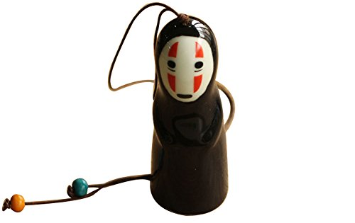 Wildforlife Spirited Away No Face Ceramic Wind Chime Hanging Ornament (1)