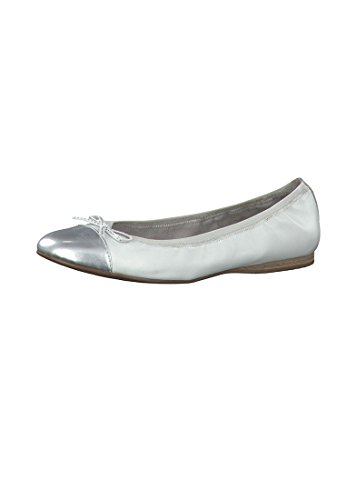 Tamaris WoMen 22129 Ballet Flats White