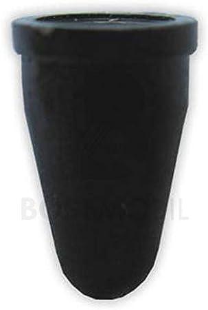 ORIGINAL BOSSMOBIL embl/ème de la marque marquage//caract/ère//symbole//signe support//fixation//support agraf/é grommet//manchon//boot universel 8 m X 11 X 5 mm