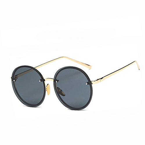 De De Amarillo YF161 Gafas transparente De Limotai Sobredimensionado Gafas Gafas Sol Transparente De Solnueva Sol Amarillo Hembra Redondo Tamaño Rosa Verano Señoras Gran Yf161 Transparente axCXq