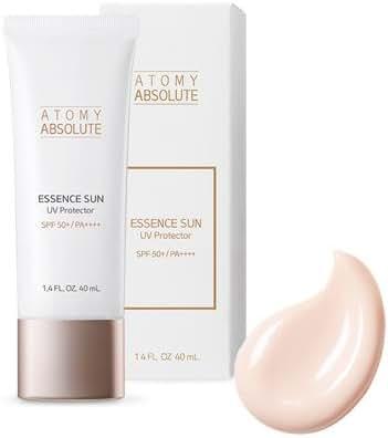 [NEW] Atomy Absolute Essence Sun UV Protector SPF50+PA++++ 40ml (1.4 FL.OZ) - Premium Moisture High Factor Sunscreen