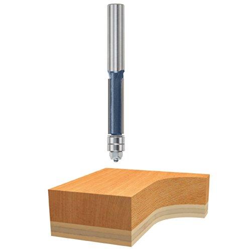 Bosch 85602M 1/2 In. x 1-1/2 In. Carbide Tipped 3-Flute Templet Trim Bit