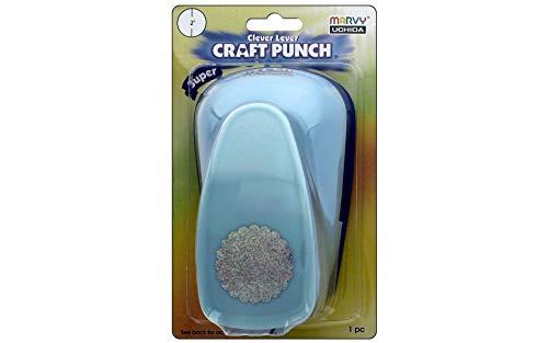 Jumbo Craft Punch - Uchida Super Jumbo Craft Punch 2 in. Scallop Circle