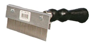 Decker Mfg 756 Curry Comb, Scotch Type, 6-In. - Quantity 10 by Decker