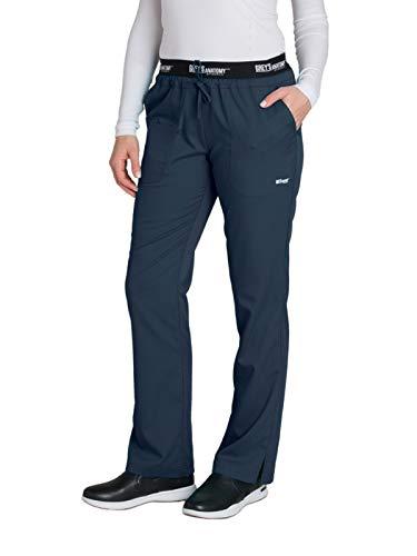 (Grey's Anatomy Active 4275 Drawstring Scrub Pant Steel XS Tall)