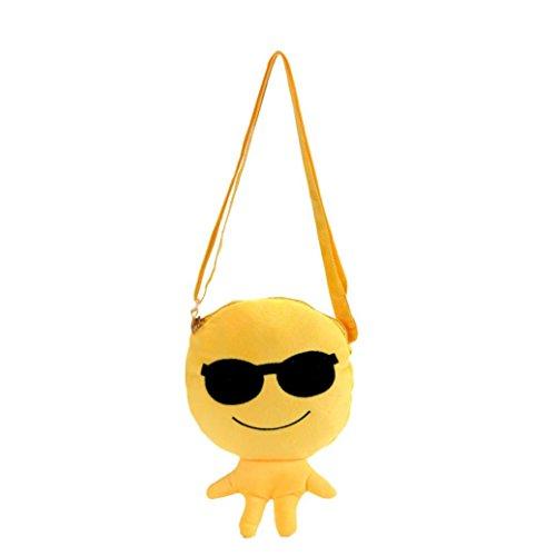 Transer - Bolsas de mano chica/mujer Emoji F