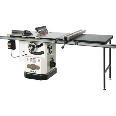 Buy Bargain Shop Fox W1820 3 HP 10-Inch Table Saw with Extension Table and Riving Knife