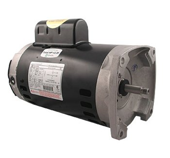 A.O. Smith B2852 3/4 HP, 3450 RPM, 1 Speed, 230/115 Volts, 5.4/10.8 Amps, 1.25 Service Factor, 56Y Frame, PSC, ODP Enclosure Square Flange Pool Motor (Square Flange Motor)