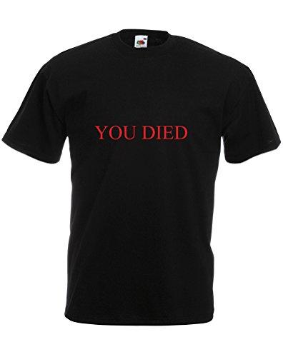 You Died, Mens Printed T-Shirt